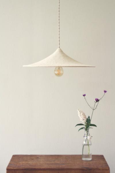 LumaLano handgevilte lamp Diska
